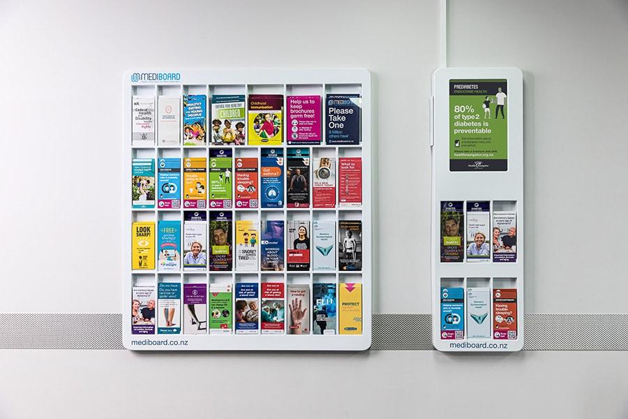 waiting room health brochures